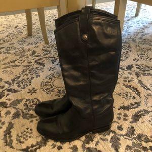 FRYE Melissa Extended Calf Black Boot